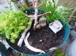Gardening rest area