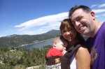 Family selfie (at the top of Castle Rock)